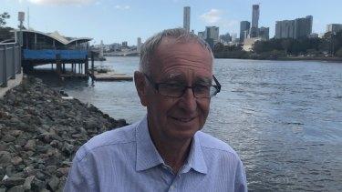 Drift Restaurant owner Ken Allsop hopes Brisbane's floating restaurant will be open by Christmas.