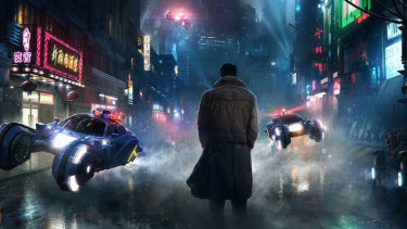There's constant overhead activity in Blade Runner 2049.