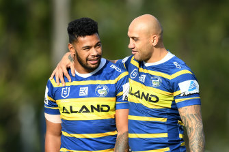Parramatta will train on Saturday and Mother's Day.