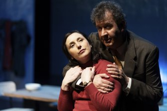 Francis Greenslade and Esther Van Doornum in <I>When the Rain Stops Falling</i>.