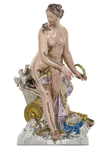"""Venus""* is a 2.5-metre sculpture based on 18th-century porcelain figurines. It's been bought by the NGV through a small group of benefactors."
