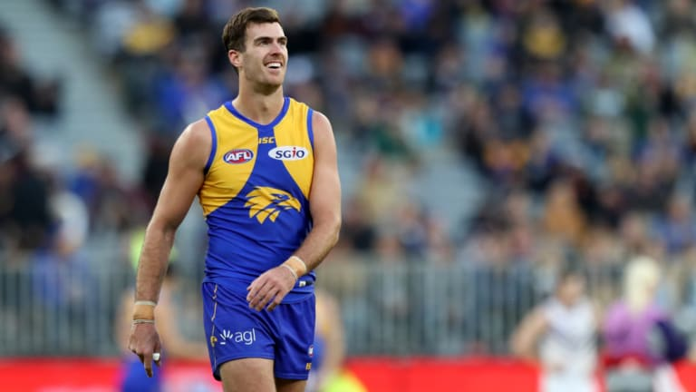 West Coast ruckman Scott Lycett has been pivotal for the Eagles this season.