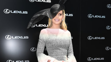 Lady Kitty Spencer, Princess Diana's niece, was one of the Cup's biggest drawcards this year.