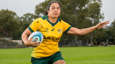 Wallaroos skipper Liza Patu is determined to upset the Black Ferns in Sydney on Saturday.