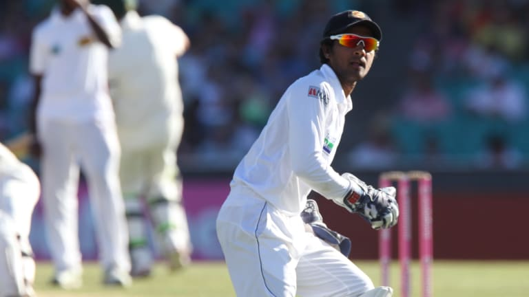 The Sri Lankan skipper was charged with the same offence as that leveled at Australia's Cameron Bancroft.