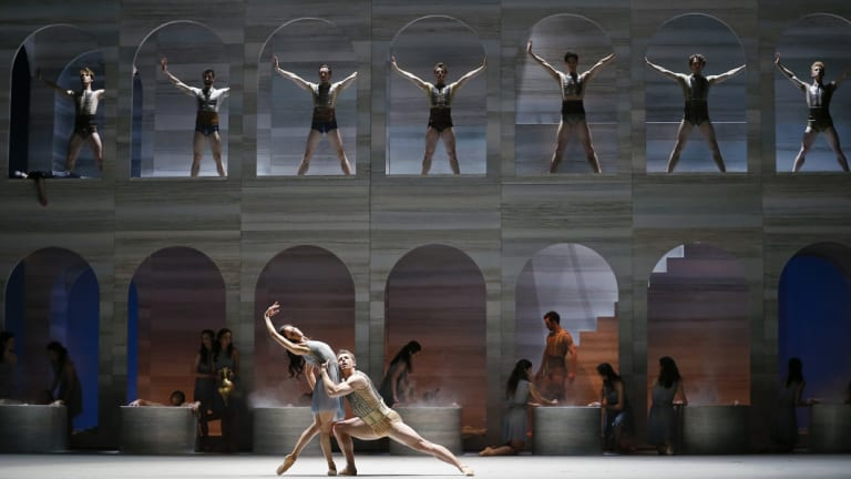 Ballet fans were disappointed after the performance of Spartacus was cancelled.