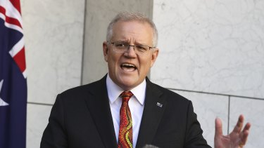Prime Minister Scott Morrison wants everyone aged 16 and over to go get vaccinated.