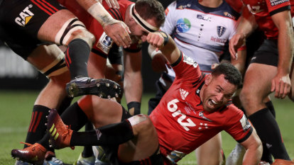Rebels with a fading cause after Crusaders inflict 66-point thrashing