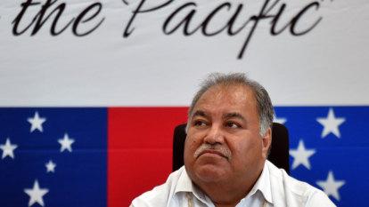 Nauru backs Taiwan as allies consider switching allegiance to China