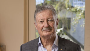 """""""In the leadership role, we need to be students of life."""" says John Bertrand, president of Swimming Australia."""