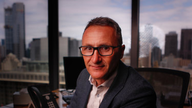"Greens leader Richard Di Natale wants Labor and the Greens to ""work cooperatively together""."