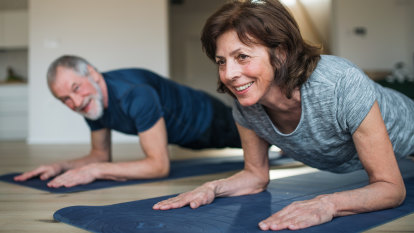 Staying fit during lockdown is even more important for seniors