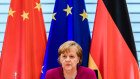 Merkel in the middle ... Berlin has outsized influence on Europe's China policy.