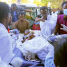 'More than 50 killed': witnesses say a fighter jet bombed Tigray market