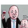 Cheers: Peter Dutton and Josh Frydenberg.