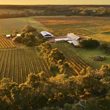 Cullen, a biodynamic vineyard within the Margaret River wine region in Western Australia.