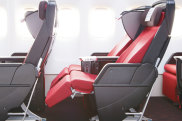 Japan Airlines, Boeing 787, premium economy seating