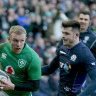 Ireland beat Scots to revive campaign, Wales labour past Italy