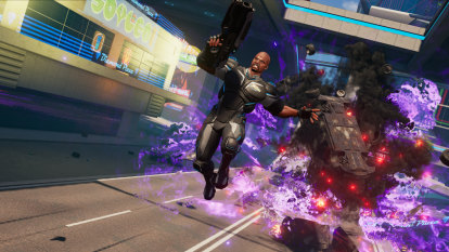 Crackdown 3 review: brawn 'n' yawn