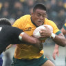 Alaalatoa says 'six out of 10' Wallabies must improve for Eden Park blockbuster