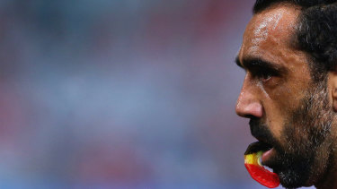 Hunted out of the game: The disgraceful treatment of Adam Goodes is chronicled in The Final Quarter.