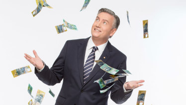 Host Eddie McGuire is eager to film in Queensland.