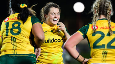 Grace Hamilton will again lead the Wallaroos in the two-match series against the Black Ferns.