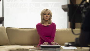 Naomi Watts as Gretchen Carlson in The Loudest Voice.