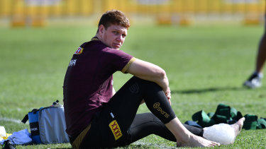Troubled times: Canterbury and Queensland enforcer Dylan Napa.