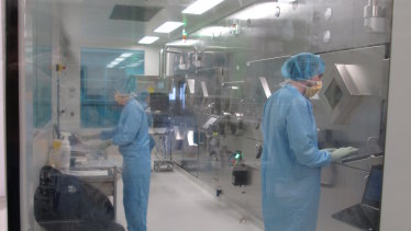 RBWH's Q-TRaCE Hot Lab has been expanded, doubling its capacity.