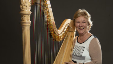 Queensland Symphony Orchestra principal harpist Jill Atkinson comes from a long line of musical talents.