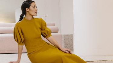 Fashion designer Emilia Wickstead, a favourite of Meghan Markle and the Duchess of Cambridge, isshowing a collaboration with MATCHESFASHION.COM at Fashion Week Australia.