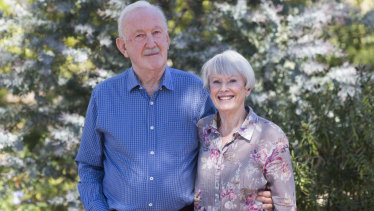 Caroline and Terry Bellair near their Castlemaine home.