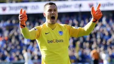 Back from the brink: Danny Vukovic returned from a ruptured achilles stronger than before.