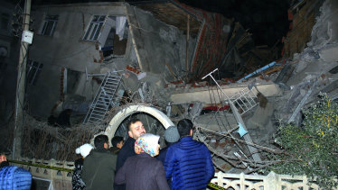 An earthquake with a magnitude of 6.8 rocked eastern Turkey on Friday.