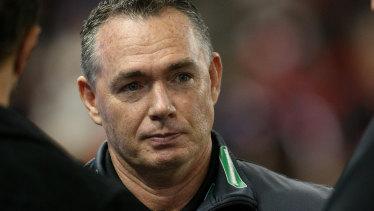 Saints coach Alan Richardson.