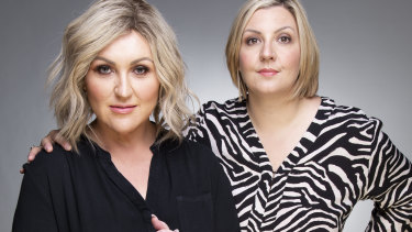 Meshel Laurie and Emily Webb, creators of the Australian True Crime podcast.