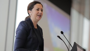 Premier Annastacia Palaszczuk announced the QFleet trial at the government's Hydrogen Forum on Tuesday.