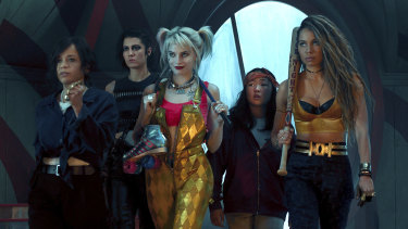 Birds of Prey, starring (from left) Rosie Perez, Mary Elizabeth Winstead, Margot Robbie, Ella Jay Basco and Jurnee Smollett-Bell, is one of only about 50 films released so far this year.