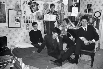 Boys Next Door (first photoshoot after Rowland S. Howard joined), 1979. Courtesy of the artist and M.33, Melbourne.