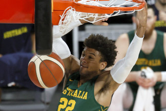 Matisse Thybulle has been explosive for the Boomers.