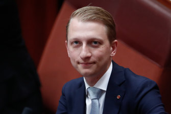 Liberal senator James Paterson will head Parliament's powerful security and intelligence committee.