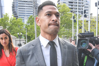 "In the claim, Israel Folau's statements are said to be ""objectively capable of incitement of contempt and or hatred of homosexual persons on the ground of their homosexuality""."