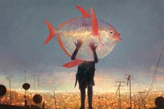 Moonfish, by Shaun Tan