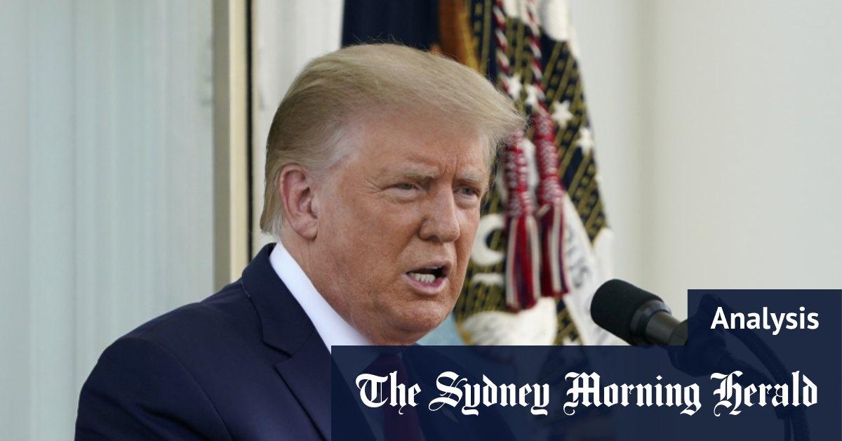 Bob Woodward revelations shine spotlight on Trump's biggest weakness – Sydney Morning Herald