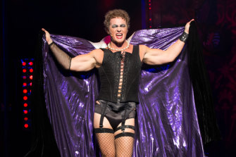 "Craig McLachlan in the ""Rocky Horror Picture Show""."