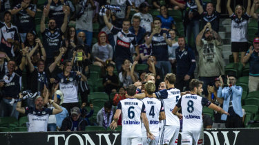 Victory accounted for Glory in Perth on Saturday night.