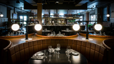 The Angus & Bon restaurant in Greville Street was styled by Bergman & Co.