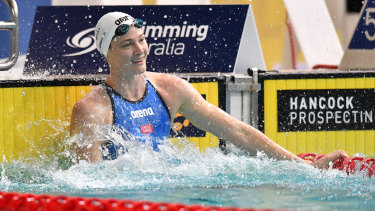 Free and easy: Cate Campbell set the quickest time this year in winning the 100m freestyle.