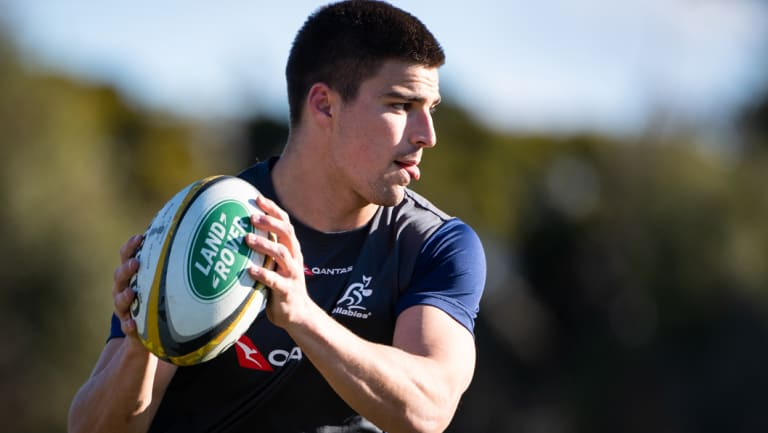 On his own terms: Jack Maddocks wants a Wallabies jersey but wants to earn it first.